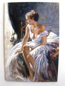 feminitate-tablou-portret